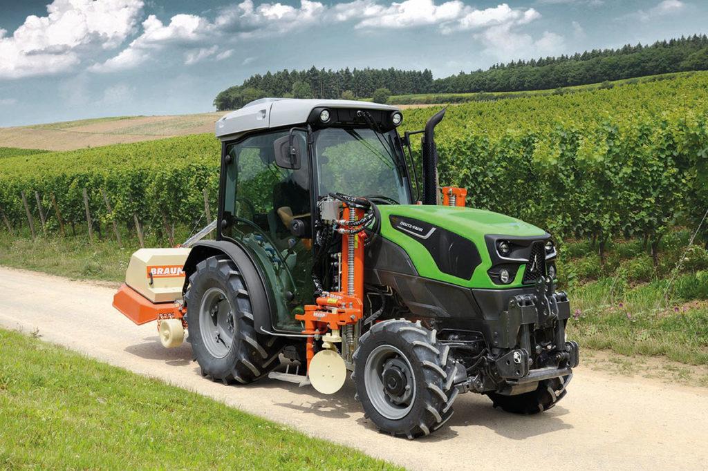 Deutz-Fahr Schmalspur-Traktor