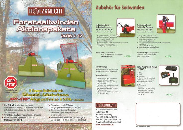 Holzknecht - Forstseilwinden